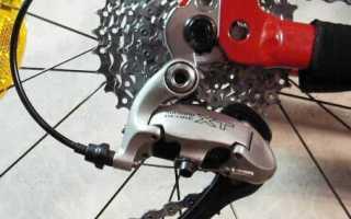 Настройка переключателей скоростей на велосипеде